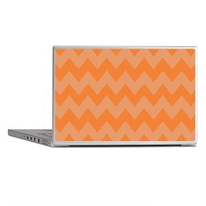 Cool Orange Chevron Laptop Skins