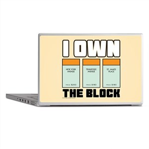 Monopoly - I Own The Block Laptop Skins