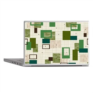 Makanahele Mid Century Modern Laptop Skins