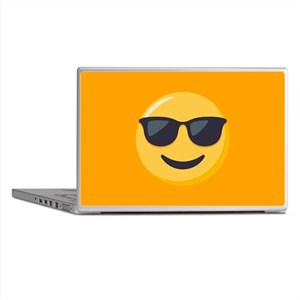 Sunglasses Emoji Laptop Skins