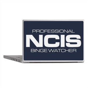 Professional NCIS Binge Watcher Laptop Skins