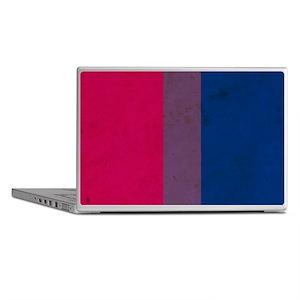 Vintage Bisexual Pride Laptop Skins