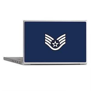 USAF: SSgt E-5 (Blue) Laptop Skins