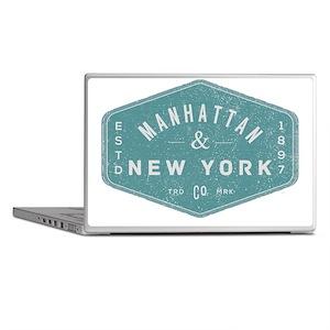 Manhattan New York City Vintage Logo  Laptop Skins