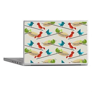 Mid Century Birds Laptop Skins