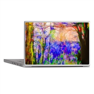 Nature In Stained Glass Laptop Skins