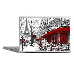 Cafe De Paris Laptop Skins
