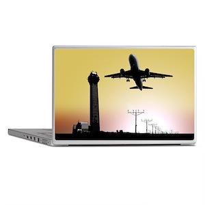 ATC: Air Traffic Control Tower & Plane Laptop Skin