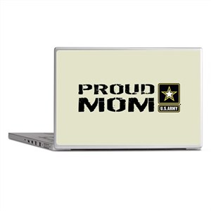 U.S. Army: Proud Mom (Sand) Laptop Skins