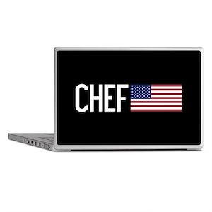 Careers: Chef (U.S. Flag) Laptop Skins