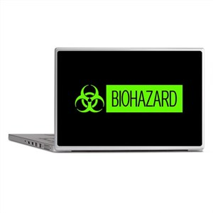 HAZMAT: Biohazard (Slime Green & Blac Laptop Skins