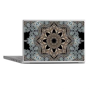 floral mandala hipster bohemian Laptop Skins