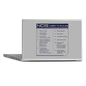 NCIS Abby's Rules Laptop Skins