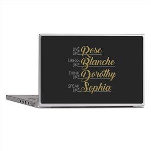 Live, Dress, Think, Speak Laptop Skins