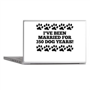50th Anniversary Dog Years Laptop Skins