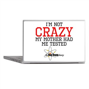 Im Not Crazy My Mother Had Me Tested Laptop Skins
