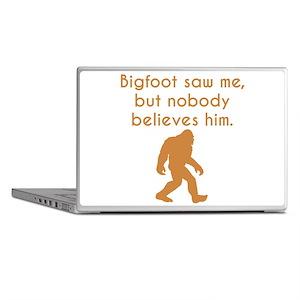 Bigfoot Saw Me Laptop Skins