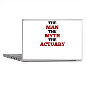 The Man The Myth The Actuary Laptop Skins