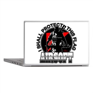 Protect Flag Airsoft Laptop Skins