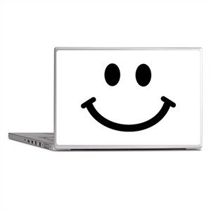 Smiley face Laptop Skins