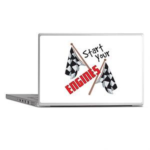 Start Your Engines Laptop Skins