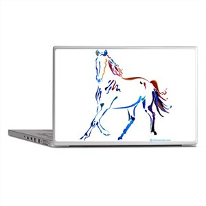 Horse of Many Colors Laptop Skins