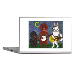 Country Dogs Laptop Skins