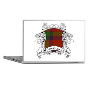 Robertson Tartan Shield Laptop Skins
