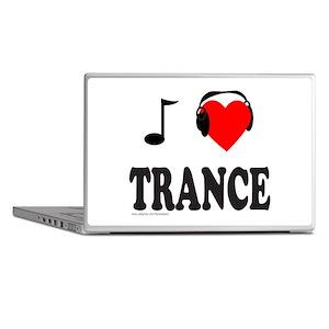 TRANCE MUSIC Laptop Skins