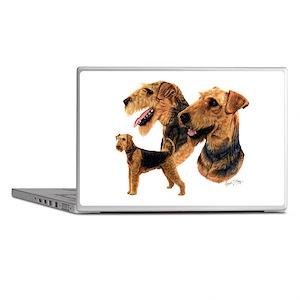 Airdale Terrier Laptop Skins
