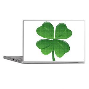 St Patrick Shamrock T Laptop Skins