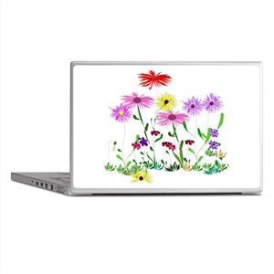 Flower Bunch Laptop Skins