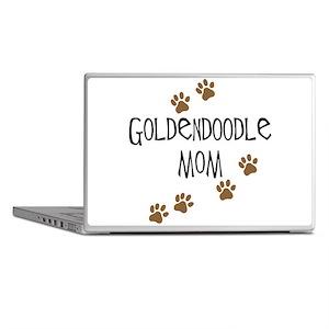 Goldendoodle Mom Laptop Skins
