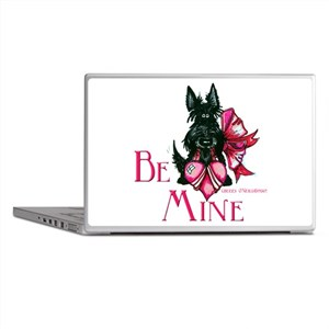 Scottish Terrier Valentine Laptop Skins
