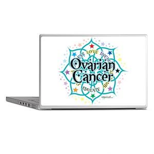 Ovarian Cancer Lotus Laptop Skins