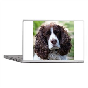 english springer spaniel Laptop Skins