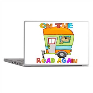 On the road again Laptop Skins