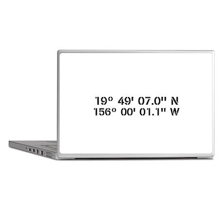 Latitude Longitude Personalized Custom Laptop Skin by kennebug