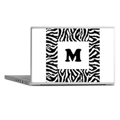 Zebra Print. Custom Letter. Laptop Skins by Saqtalarlia