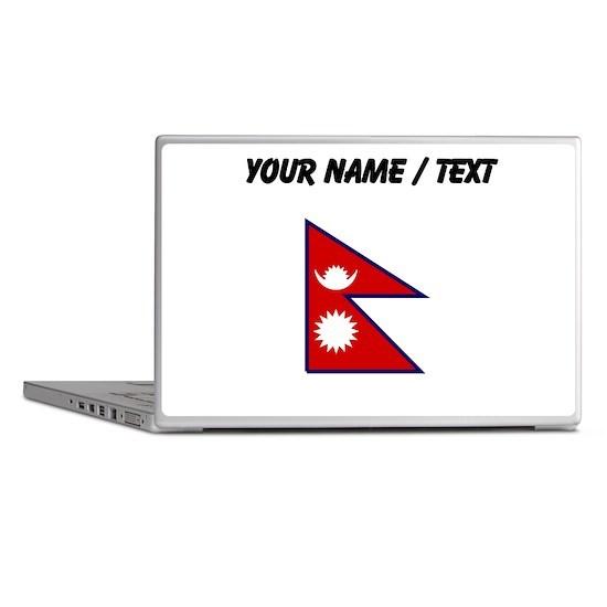 Custom Nepal Flag Laptop Skins