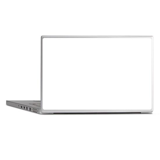 skull forward laptop skins by born rowdy