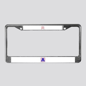 Vintage 1963 Aged To Perfectio License Plate Frame