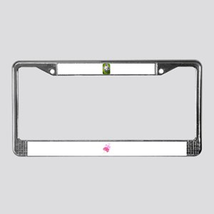 COLUMBINE FLOWER License Plate Frame