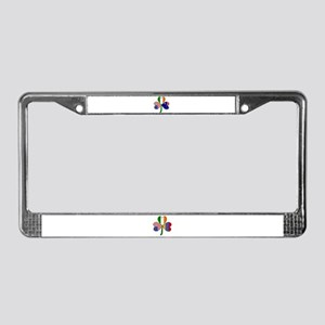 Shamrock of Australia License Plate Frame