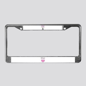 SWEET SIXTEEN License Plate Frame