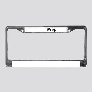iPrep License Plate Frame