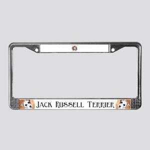 Know Jack - Russell Terrier License Plate Frame