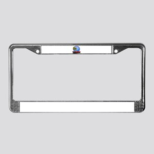 Mustang convertible License Plate Frame