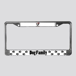 Naughty Dog License Plate Frame