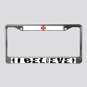 Pope Francis 2013 License Plate Frame